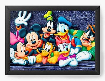 Quadro Decorativo A turma do Mickey