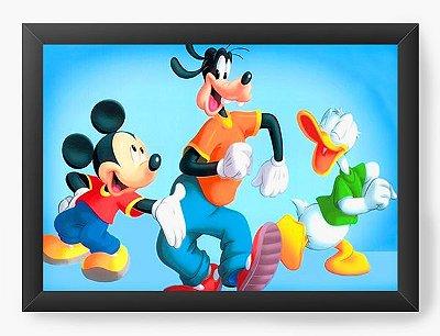 Quadro Decorativo Mickey e seus amigos