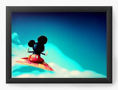 Quadro Decorativo Mickey in the sky