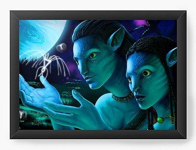 Quadro Decorativo Avatar  - Neytiri e Jake