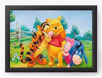 Quadro Decorativo Ursinho Pooh