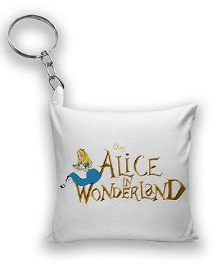 Chaveiro Alice no País das Maravilhas