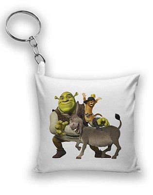 Chaveiro Shrek e Burro