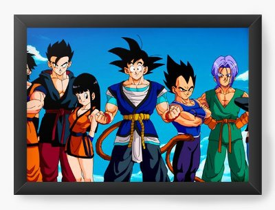 Quadro Decorativo Dragon Ball Super
