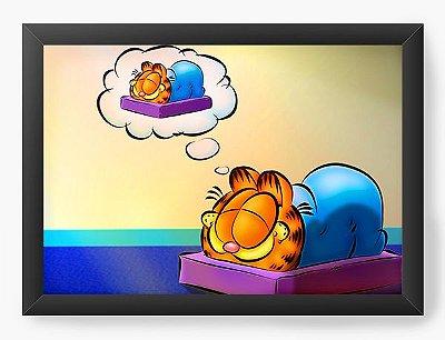 Quadro Decorativo Garfield Sleeping
