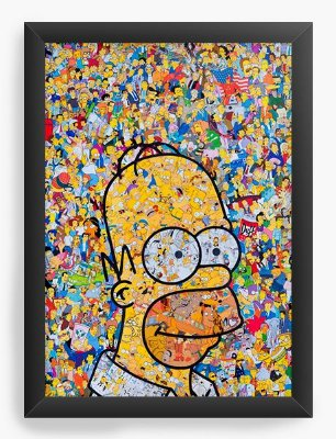 Quadro Decorativo The Simpsons - Homer