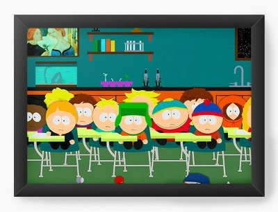 Quadro Decorativo South Park  School