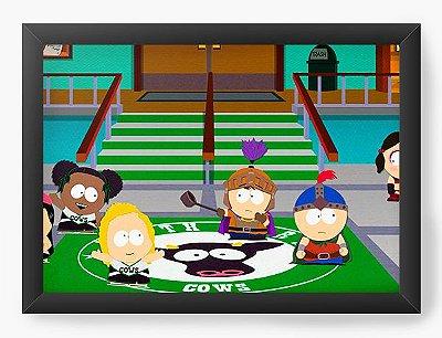 Quadro Decorativo South Park hockey