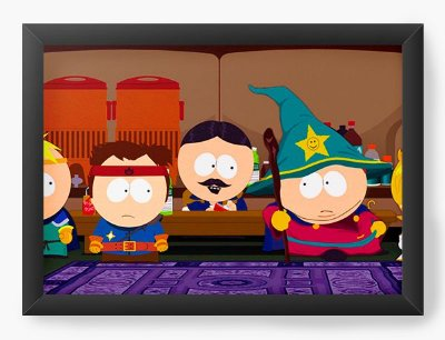 Quadro Decorativo South Park Wizard