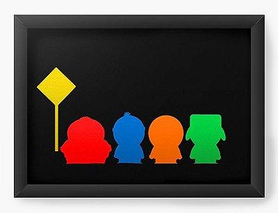 Quadro Decorativo South Park Colorful