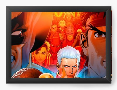 Quadro Decorativo Street Fighter Fight