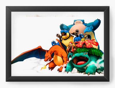Quadro Decorativo Pokemon