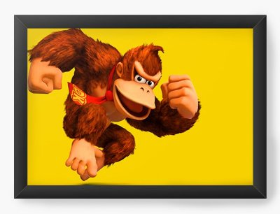 Quadro Decorativo Donkey Kong DK