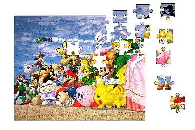 Quebra-Cabeça Super Mario Bros 90 pçs