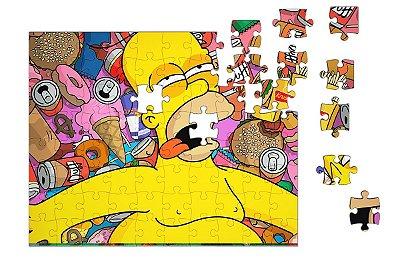 Quebra-Cabeça Homer Simpson 90 pçs