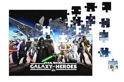 Quebra-Cabeça Star Wars - Space 90 pçs