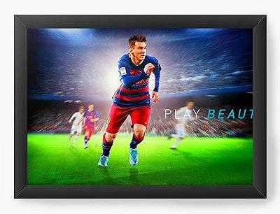 Quadro Decorativo World Cup - Lionel Messi
