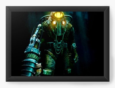Quadro Decorativo BioShock