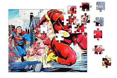 Quebra-Cabeça The Flash 90 pçs