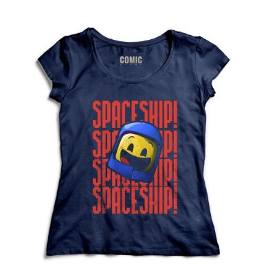 Camiseta Feminina  LEGO Space Ship!