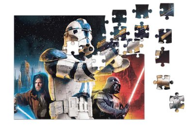 Quebra-Cabeça Star Wars - Stormtrooper 90 pçs