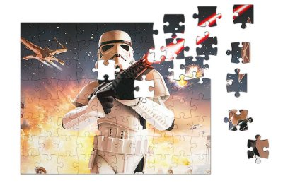 Quebra-Cabeça Star Wars - Stormtrooper pçs 90