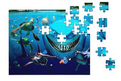 Quebra-Cabeça Procurando Nemo 90 pçs