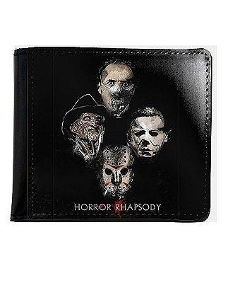 Carteira Freddy Krueger e Jason - Horror Rhapsody