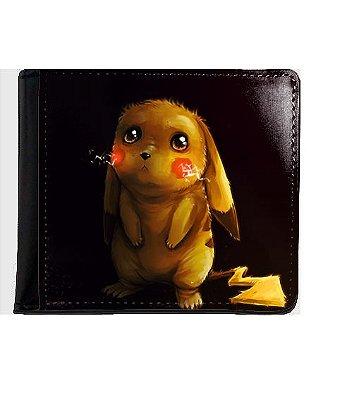 Carteira Pokemon - Pikachu