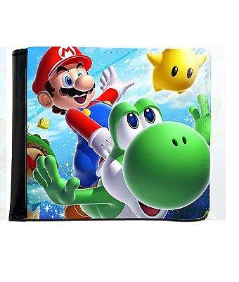 Carteira Super Mario e Yoshi