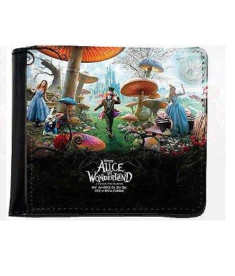 Carteira Alice no País das Maravilhas