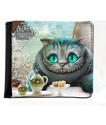 Carteira Alice no País das Maravilhas - Cat
