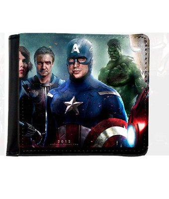 Carteira Os Vingadores - Capitão America, Hulk