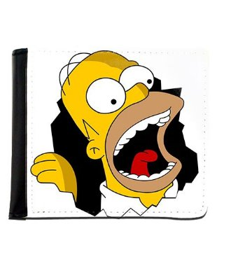 Carteira Simpsons - Homer