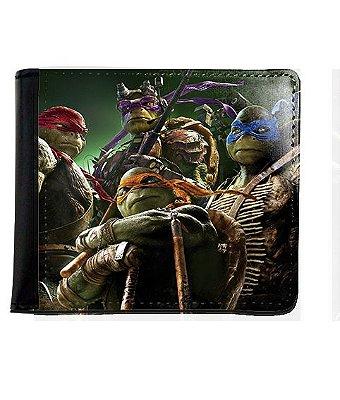 Carteira Tartarugas Ninjas