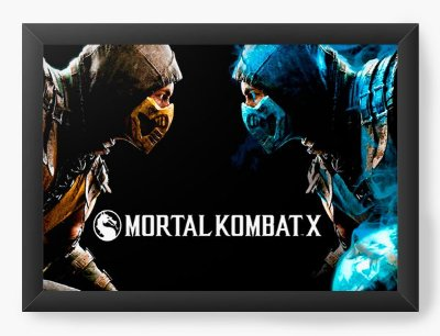 Quadro Decorativo Mortal Kombat X