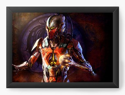 Quadro Decorativo Mortal Kombat X Games