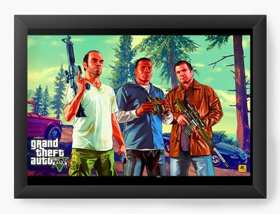 Quadro Decorativo Grand Theft Auto Five