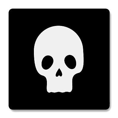 Imã de Geladeira Skull