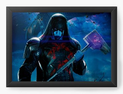 Quadro Decorativo Guardians of The Galaxy - Ronan