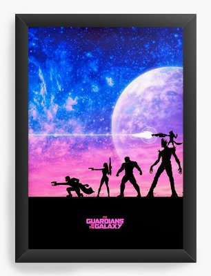 Quadro Decorativo Comics Guardians of the Galaxy