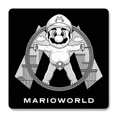 Imã de Geladeira Super Mario Word