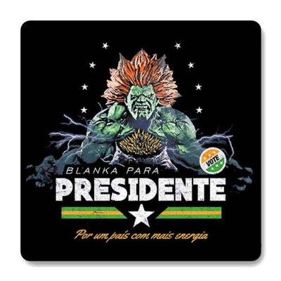 Imã de Geladeira Blanka - Presidente