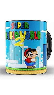 Caneca Super Mario Word 2