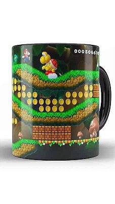 Caneca Super Mario Word - Fase