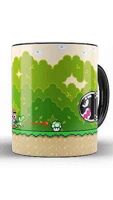 Caneca Super Mario Word - Life