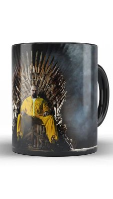 Caneca Breaking Bad - Trono
