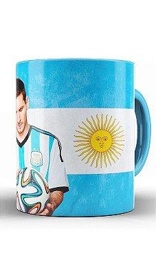 Caneca Seleção Da Argentina - Messi
