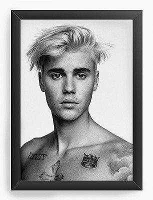 Quadro Decorativo Justin Bieber