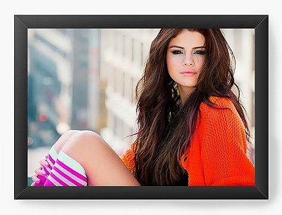 Quadro Decorativo Selena Gomez